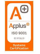 Certificado ISO GSS sistemas de seguridad y alarmas