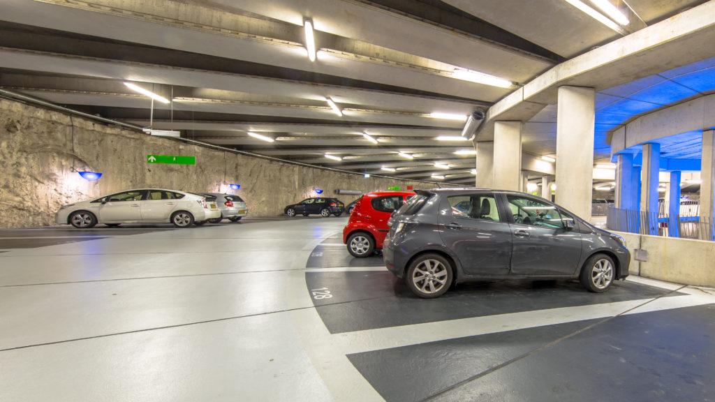 GSS®.Cámaras de seguridad para estacionamientos