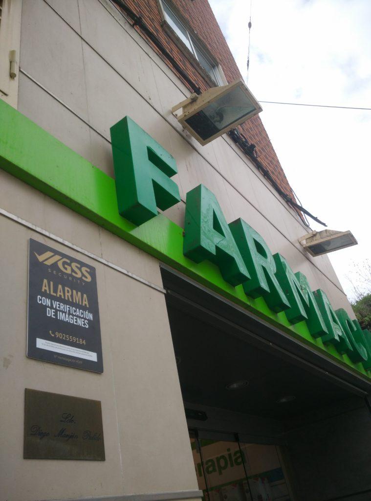 Seguridad en farmacias de Barcelona