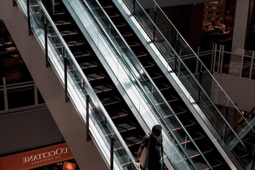 Seguridad en los centros comerciales.